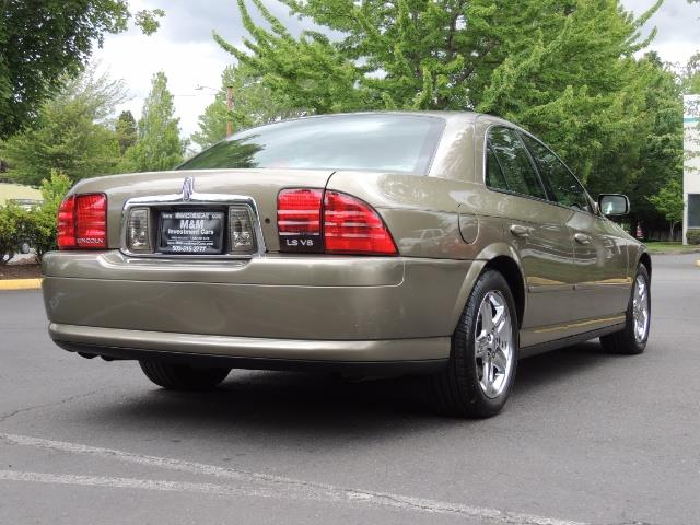 2002 Lincoln LS Luxury Sedan / Leather/ Heated Seats / Low Miles - Photo 8 - Portland, OR 97217