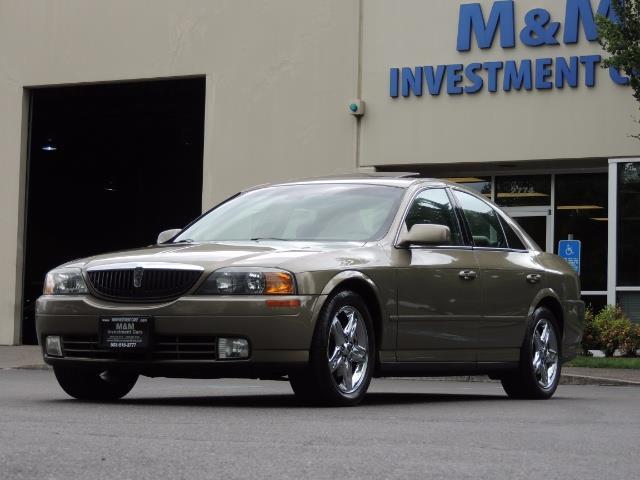 2002 Lincoln LS Luxury Sedan / Leather/ Heated Seats / Low Miles - Photo 1 - Portland, OR 97217