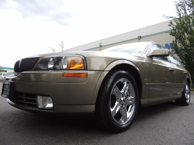 2002 Lincoln LS Luxury Sedan / Leather/ Heated Seats / Low Miles - Photo 9 - Portland, OR 97217
