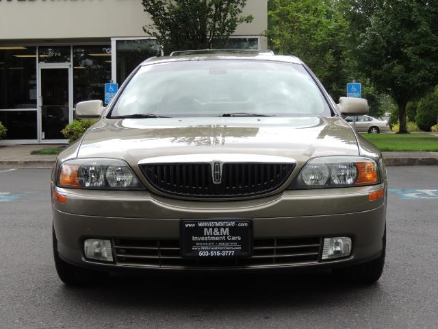 2002 Lincoln LS Luxury Sedan / Leather/ Heated Seats / Low Miles - Photo 5 - Portland, OR 97217