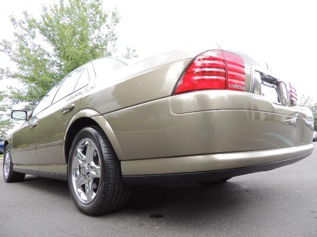 2002 Lincoln LS Luxury Sedan / Leather/ Heated Seats / Low Miles - Photo 12 - Portland, OR 97217