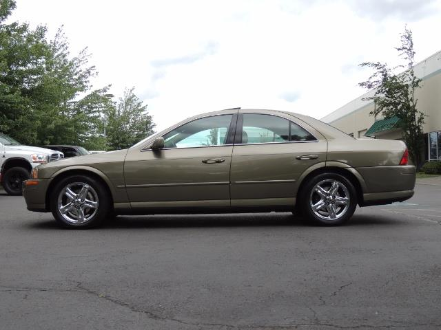 2002 Lincoln LS Luxury Sedan / Leather/ Heated Seats / Low Miles - Photo 3 - Portland, OR 97217