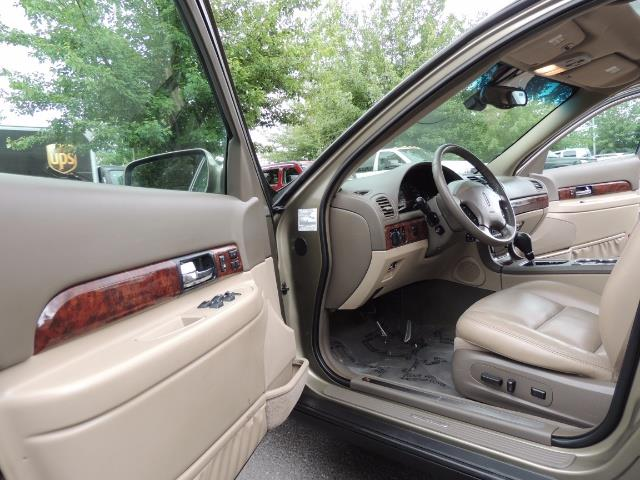 2002 Lincoln LS Luxury Sedan / Leather/ Heated Seats / Low Miles - Photo 13 - Portland, OR 97217