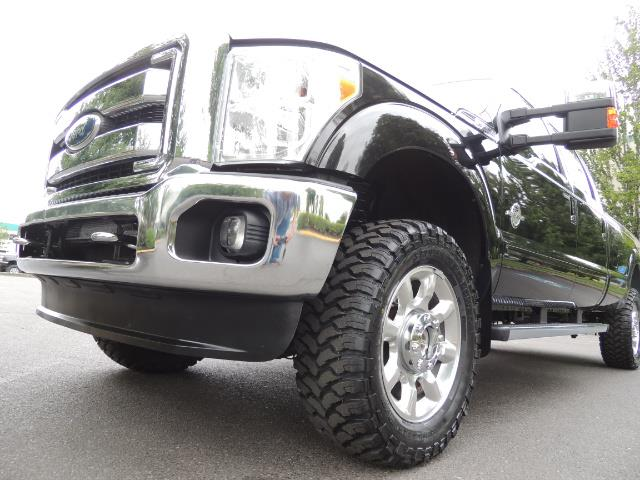 2011 Ford F-350 Super Duty Lariat / 4x4 / 6.7L DIESEL / LOADED - Photo 9 - Portland, OR 97217