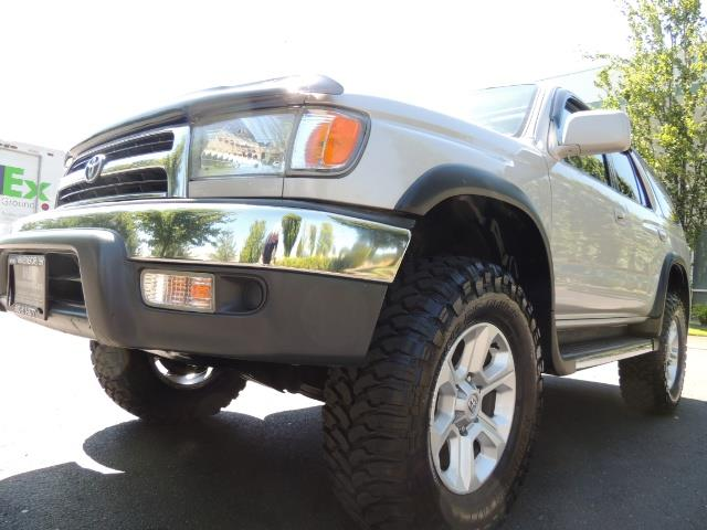 1999 Toyota 4Runner SR5 4WD V6 3.4L / LEATHER / NEW TIRES / LIFTED - Photo 9 - Portland, OR 97217