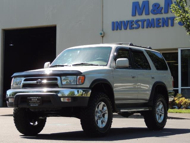 1999 Toyota 4Runner SR5 4WD V6 3.4L / LEATHER / NEW TIRES / LIFTED - Photo 36 - Portland, OR 97217