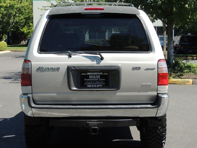 1999 Toyota 4Runner SR5 4WD V6 3.4L / LEATHER / NEW TIRES / LIFTED - Photo 6 - Portland, OR 97217
