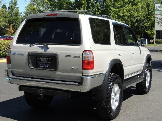 1999 Toyota 4Runner SR5 4WD V6 3.4L / LEATHER / NEW TIRES / LIFTED - Photo 44 - Portland, OR 97217