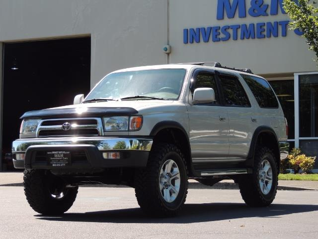 1999 Toyota 4Runner SR5 4WD V6 3.4L / LEATHER / NEW TIRES / LIFTED - Photo 1 - Portland, OR 97217