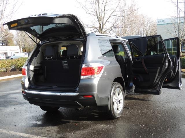 2012 Toyota Highlander Limited All Wheel Drive Navigation Camera Loaded - Photo 30 - Portland, OR 97217