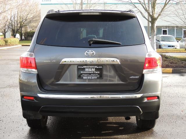 2012 Toyota Highlander Limited All Wheel Drive Navigation Camera Loaded - Photo 6 - Portland, OR 97217
