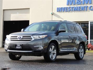 2012 Toyota Highlander Limited All Wheel Drive Navigation Camera Loaded SUV