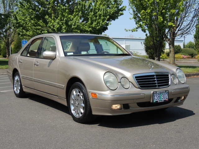 2000 mercedes benz e320 4matic awd 6cyl sedan for Mercedes benz residual value