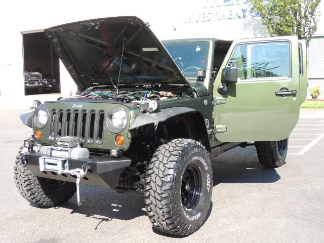 "2008 Jeep Wrangler Unlimited Rubicon 4DR 4WD SoundSystem / LIFTED 35 "" - Photo 26 - Portland, OR 97217"
