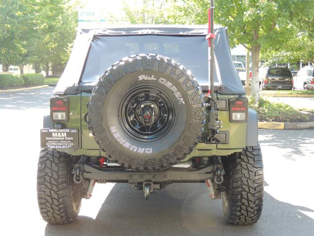 "2008 Jeep Wrangler Unlimited Rubicon 4DR 4WD SoundSystem / LIFTED 35 "" - Photo 7 - Portland, OR 97217"