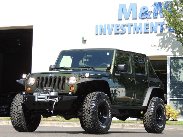 "2008 Jeep Wrangler Unlimited Rubicon 4DR 4WD SoundSystem / LIFTED 35 "" - Photo 41 - Portland, OR 97217"
