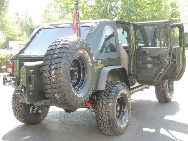 "2008 Jeep Wrangler Unlimited Rubicon 4DR 4WD SoundSystem / LIFTED 35 "" - Photo 29 - Portland, OR 97217"