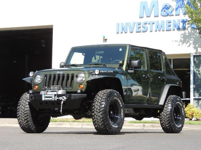 "2008 Jeep Wrangler Unlimited Rubicon 4DR 4WD SoundSystem / LIFTED 35 "" - Photo 25 - Portland, OR 97217"