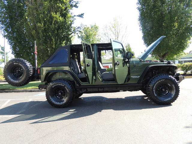 "2008 Jeep Wrangler Unlimited Rubicon 4DR 4WD SoundSystem / LIFTED 35 "" - Photo 9 - Portland, OR 97217"