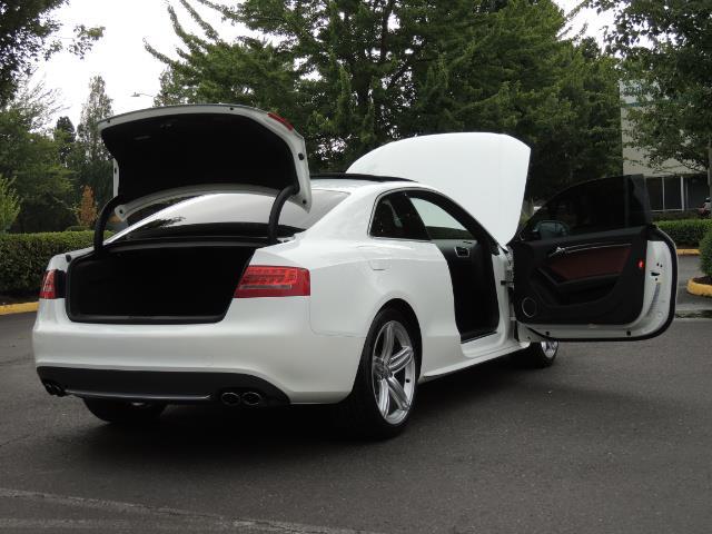 2011 Audi S5 4.2 quattro Premium Plus / AWD / Bang & Olufsen So - Photo 30 - Portland, OR 97217