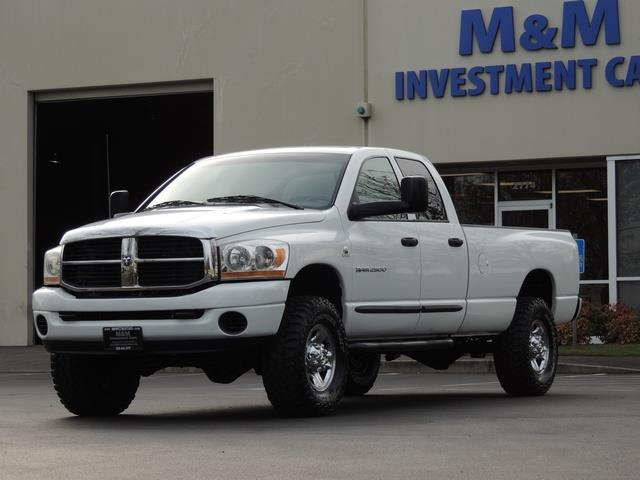 2006 dodge ram 2500 laramie slt diesel 5 9liter 4wd quad cab long bed. Black Bedroom Furniture Sets. Home Design Ideas