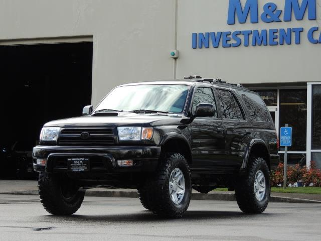 1999 Toyota 4Runner SPORT 4X4 V6 3.4L/ REAR DIFFERENTIAL LOCK / LIFTED - Photo 37 - Portland, OR 97217
