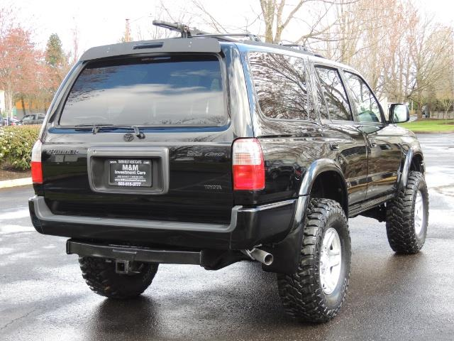 1999 Toyota 4Runner SPORT 4X4 V6 3.4L/ REAR DIFFERENTIAL LOCK / LIFTED - Photo 8 - Portland, OR 97217
