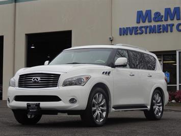 2013 INFINITI QX56 AWD / Navigation / DVDs / 1-OWNER SUV