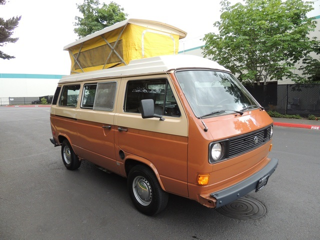 1981 Volkswagen Riveria Vw Vanagon Westy