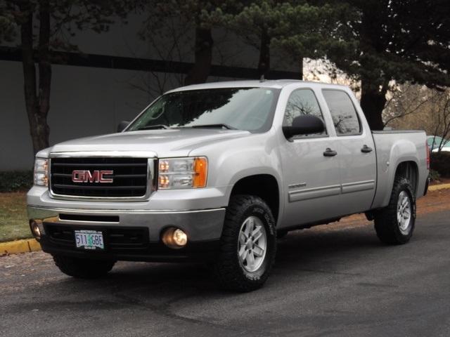 2010 gmc sierra 1500 sle crew cab 4x4 2 inch lift 33 mud tires. Black Bedroom Furniture Sets. Home Design Ideas