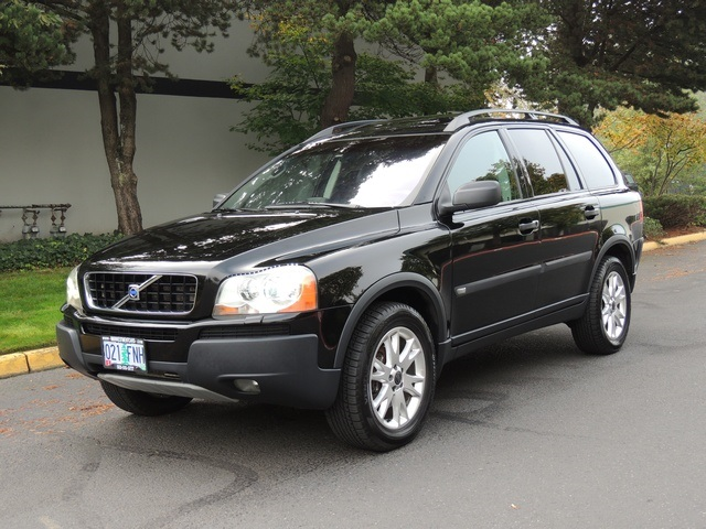 2004 volvo xc90 awd navigation rear cam black on black. Black Bedroom Furniture Sets. Home Design Ideas