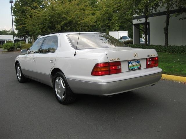 1997 lexus ls 400 coach edition luxury sedan. Black Bedroom Furniture Sets. Home Design Ideas
