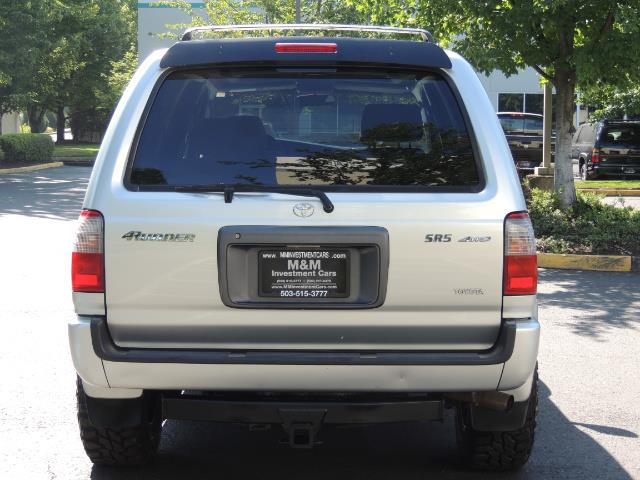 2000 Toyota 4Runner SR5 4dr SR5 / 4X4 /  5-SPEED MANUAL / LIFTED - Photo 6 - Portland, OR 97217