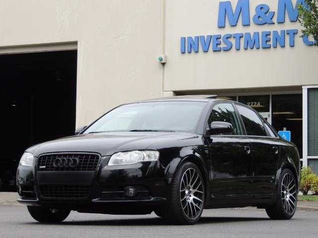 2008 Audi A4 2.0T Special Ed./ S-LINE / Leather / Sunroof - Photo 1 - Portland, OR 97217