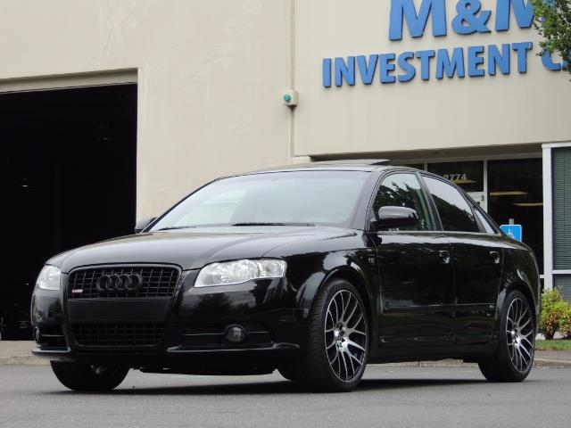 2008 Audi A4 2.0T Special Ed./ S-LINE / Leather / Sunroof - Photo 41 - Portland, OR 97217