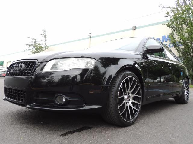 2008 Audi A4 2.0T Special Ed./ S-LINE / Leather / Sunroof - Photo 9 - Portland, OR 97217
