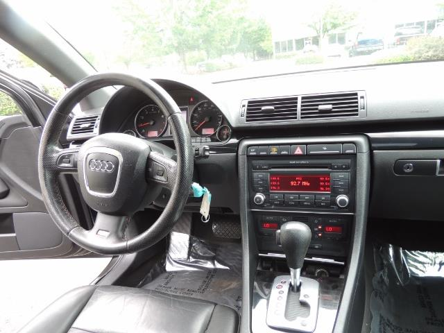 2008 Audi A4 2.0T Special Ed./ S-LINE / Leather / Sunroof - Photo 18 - Portland, OR 97217