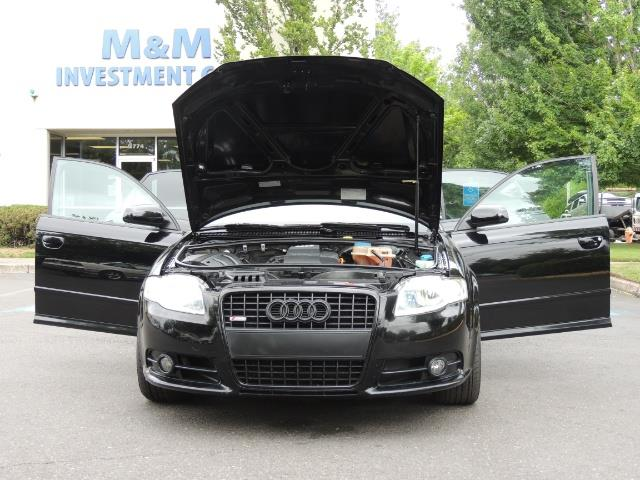 2008 Audi A4 2.0T Special Ed./ S-LINE / Leather / Sunroof - Photo 31 - Portland, OR 97217