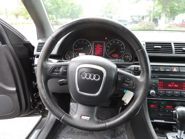 2008 Audi A4 2.0T Special Ed./ S-LINE / Leather / Sunroof - Photo 20 - Portland, OR 97217