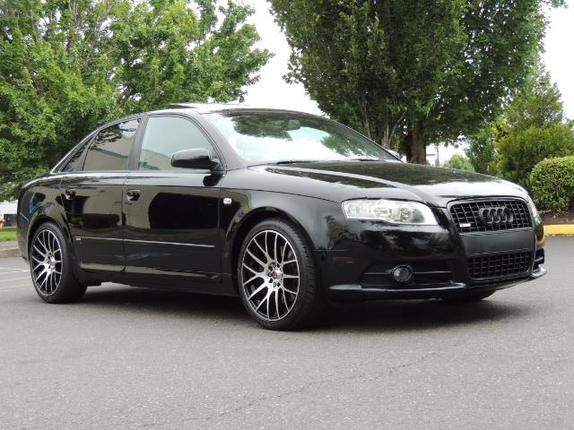 2008 Audi A4 2.0T Special Ed./ S-LINE / Leather / Sunroof - Photo 2 - Portland, OR 97217
