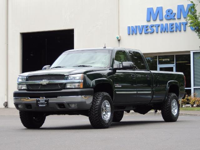 2003 Chevrolet Silverado 2500 LT 4dr Crew Cab LT / 4X4 / 6.6L DURAMAX / ALLISON - Photo 43 - Portland, OR 97217