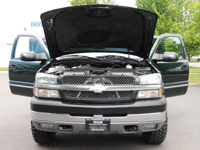2003 Chevrolet Silverado 2500 LT 4dr Crew Cab LT / 4X4 / 6.6L DURAMAX / ALLISON - Photo 32 - Portland, OR 97217