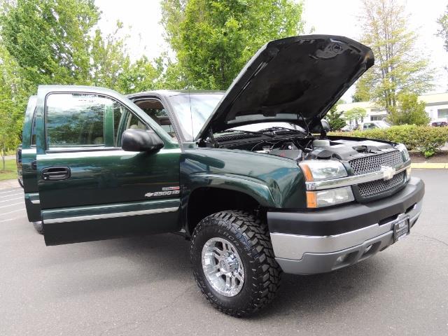 2003 Chevrolet Silverado 2500 LT 4dr Crew Cab LT / 4X4 / 6.6L DURAMAX / ALLISON - Photo 31 - Portland, OR 97217