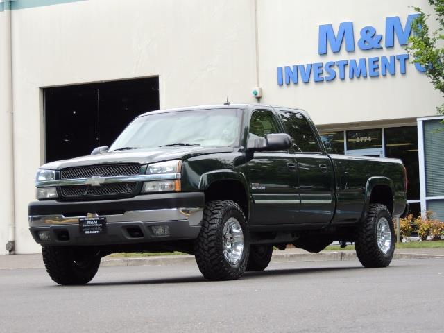 2003 Chevrolet Silverado 2500 LT 4dr Crew Cab LT / 4X4 / 6.6L DURAMAX / ALLISON - Photo 46 - Portland, OR 97217