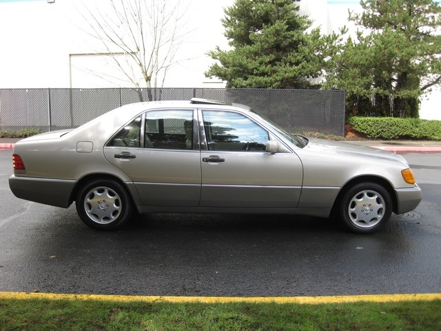 1993 mercedes benz 300se for Mercedes benz service charges
