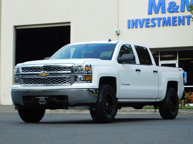 2014 Chevrolet Silverado 1500 LT / Crew Cab / 4X4 / LIFTED / NEW WHEELS & TIRES - Photo 1 - Portland, OR 97217
