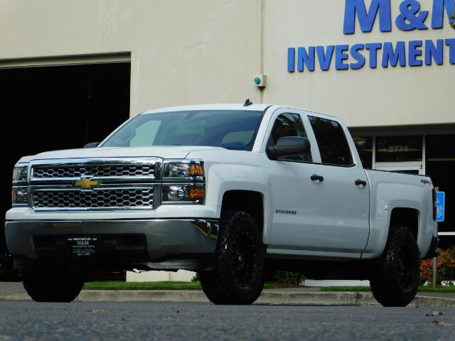 2014 Chevrolet Silverado 1500 LT / Crew Cab / 4X4 / LIFTED / NEW WHEELS & TIRES - Photo 45 - Portland, OR 97217