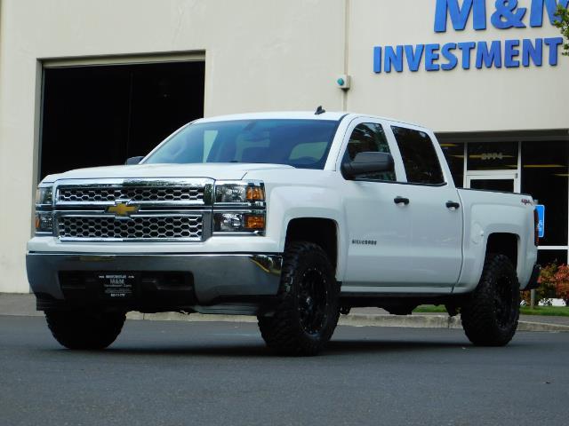 2014 Chevrolet Silverado 1500 LT / Crew Cab / 4X4 / LIFTED / NEW WHEELS & TIRES - Photo 44 - Portland, OR 97217