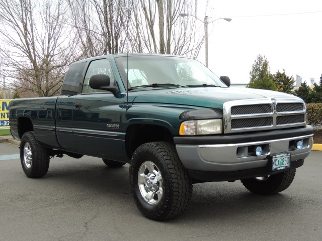 1998 dodge ram 2500 laramie slt 4x4 5 9l cummins turbo diesel. Black Bedroom Furniture Sets. Home Design Ideas