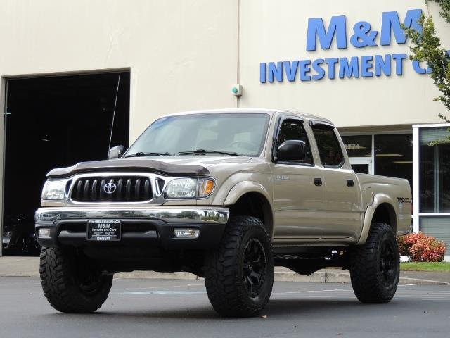 2004 toyota tacoma double cab 4x4 v6 trd diff lock. Black Bedroom Furniture Sets. Home Design Ideas
